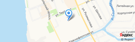 Фруктовый сад магазин фруктов на карте Архангельска