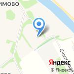 Заостровская средняя общеобразовательная школа на карте Архангельска