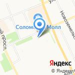 Магазин строительных материалов на карте Архангельска