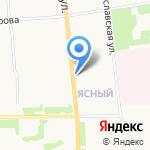 Елиза на карте Архангельска