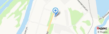 Пожарная часть №78 на карте Архангельска