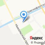 Северный медицинский клинический центр им. Н.А. Семашко на карте Архангельска