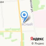 Золотая кобра на карте Архангельска