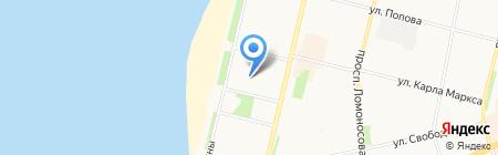 РефТранс-Архангельск на карте Архангельска
