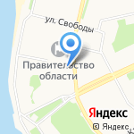 Карусель на карте Архангельска