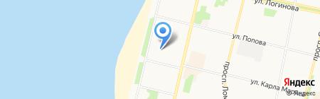 Адвокатский кабинет Бекарова М.У. на карте Архангельска