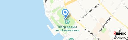 Союз театральных деятелей России на карте Архангельска