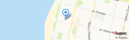 Поморская государственная филармония на карте Архангельска