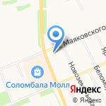 РН-Архангельскнефтепродукт на карте Архангельска