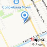 Улыбка на карте Архангельска