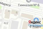 Схема проезда до компании Jacuzzi в Архангельске