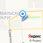 KINDERLAND на карте Архангельска