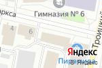 Схема проезда до компании Папироска.рф в Архангельске