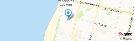 Двина-Информ на карте Архангельска