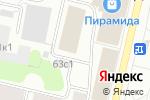 Схема проезда до компании Ялта в Архангельске