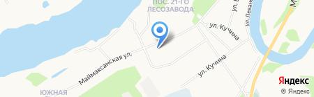 Почтовое отделение связи №64 на карте Архангельска