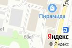 Схема проезда до компании Листик в Архангельске