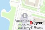 Схема проезда до компании Региональный центр дополнительного профессионального морского образования в Архангельске