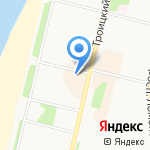 Астек на карте Архангельска