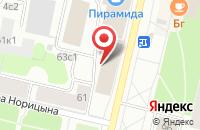 Схема проезда до компании Производство и Снабжение в Архангельске