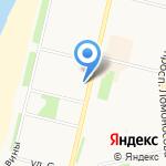 Центр независимой экспертизы на карте Архангельска