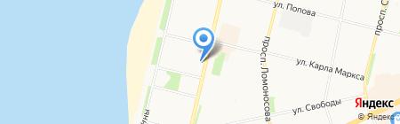 Гранд Смета 29 на карте Архангельска