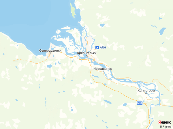деревня Великое на карте