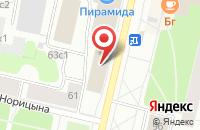 Схема проезда до компании Инвест в Архангельске