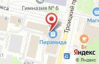 Схема проезда до компании Люкса в Архангельске
