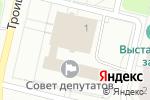 Схема проезда до компании Россиянка в Архангельске