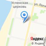 Приморский межрайонный следственный отдел на карте Архангельска