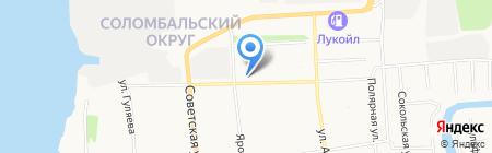 Вдохновение на карте Архангельска