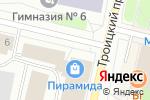 Схема проезда до компании Каравай в Архангельске