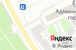 Схема проезда до компании Библио-кофе в Архангельске