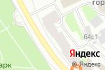 Схема проезда до компании Салон красоты в Архангельске