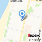 Поморье на карте Архангельска