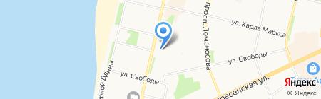 Бухгалтерская компания на карте Архангельска