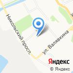 Архангельский пряник на карте Архангельска