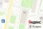 Схема проезда до компании Управление ФСИН России по Архангельской области в Архангельске