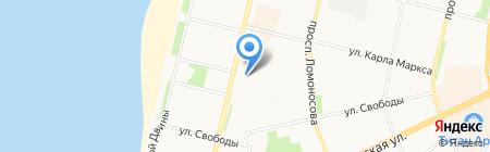 УФСИН России по Архангельской области на карте Архангельска