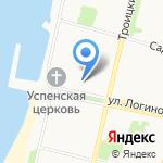 Архангельский учебный коллектор на карте Архангельска