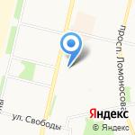 Управление ФСИН России по Архангельской области на карте Архангельска