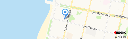 Банкомат МДМ Банк на карте Архангельска
