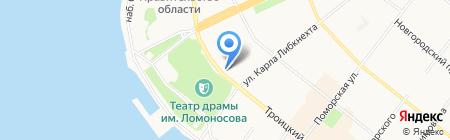 Горсвет на карте Архангельска
