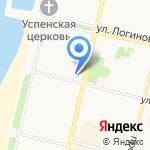Olivia на карте Архангельска