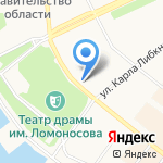 Студия красоты Андрея Нехорошкова на карте Архангельска