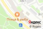 Схема проезда до компании Атрица в Архангельске