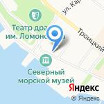 Иконная лавка на карте Архангельска