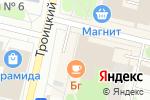 Схема проезда до компании Gold в Архангельске