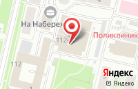 Схема проезда до компании Дриада в Архангельске